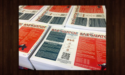 015 Sasquatch! Festival Flyers for Live Nation at the Gorge Amphitheater - Print Project